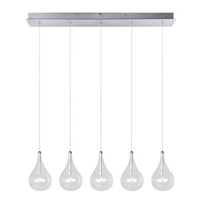 Larmes 5 Light Kitchen Island Pendant Product Photo