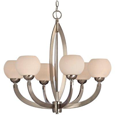 Dolan Designs Odyssey 6 Light Chandelier