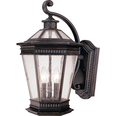 Dolan Designs Vintage 3 Light Wall Lantern