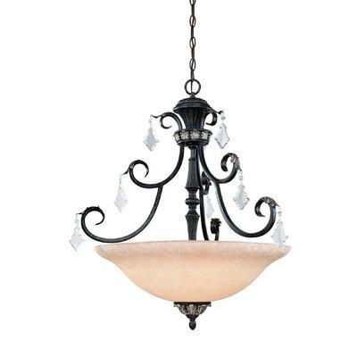 Dolan Designs Florence 4 Light Inverted Pendant
