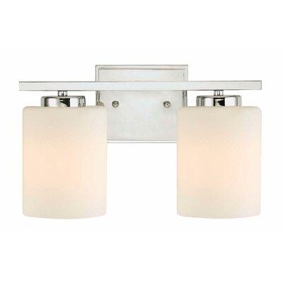 Bathroom Vanity Lights Reviews : Dolan Designs Chloe 2 Light Bath Vanity Light & Reviews Wayfair