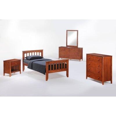 Night & Day Furniture Zest Full Panel Customizable Bedroom Set