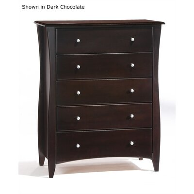Night & Day Furniture Spices 5 Drawer Chest
