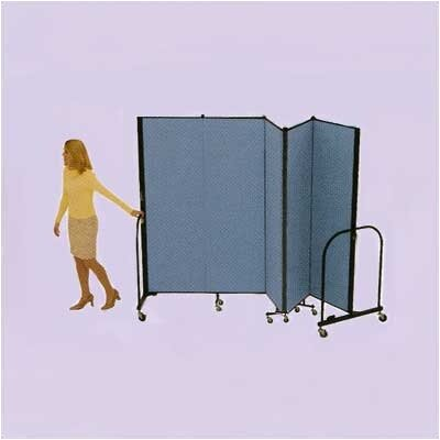 ScreenFlex Commercial Edition Five Panel Portable Room Divider