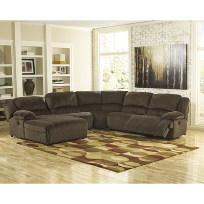 Braddock Reclining Sectional by Signature Design by Ashley