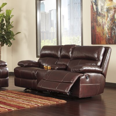 Signature Design by Ashley U9900 Meyer Glider Reclining Loveseat