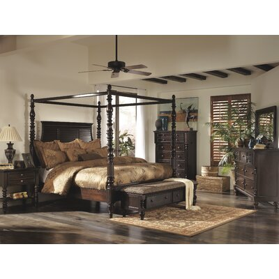 Signature Design By Ashley Key Town Wood Storage Bedroom Bench Reviews Wayfair