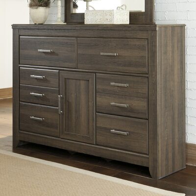 Juararo 6 Drawer Dresser with Mirror by Signature Design by Ashley