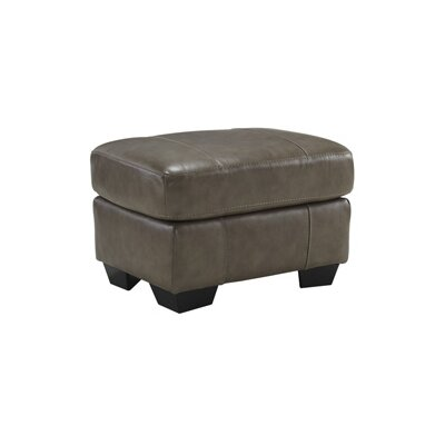 Leather Ottoman by Signature Design by Ashley