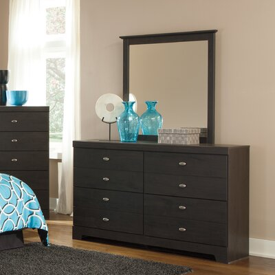 Shylyn 4 Drawer Dresser with Mirror by Signature Design by Ashley
