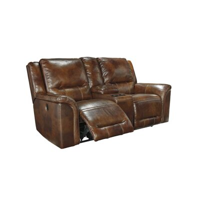 Signature Design by Ashley GNT7535 Jayron Double Reclining Console Loveseat
