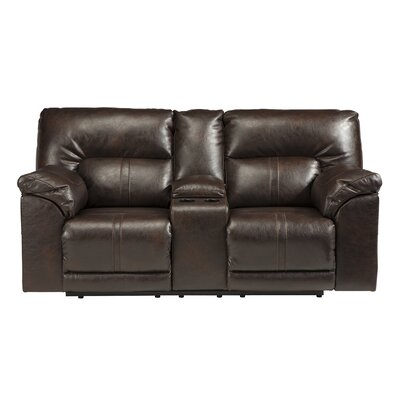 Signature Design by Ashley GNT7672 Double Reclining Console Loveseat