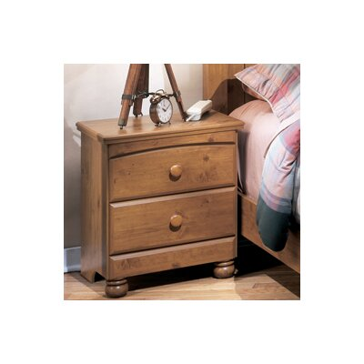 Elsa 2 Drawer Nightstand by Signature Design by Ashley