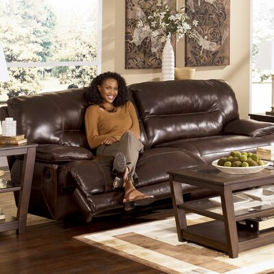 Signature Design by Ashley GNT2244 Venice Leather Reclining Sofa