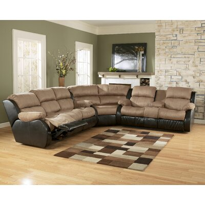 Oxford Reclining Sectional by Signature Design by Ashley