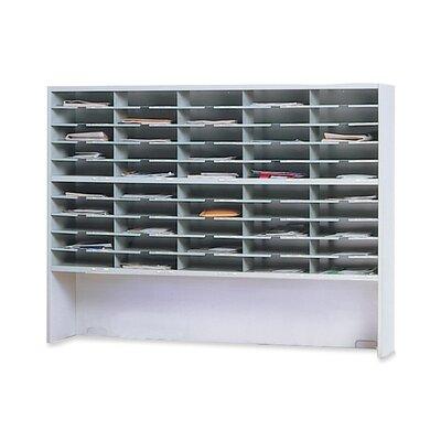 Mayline Group Mailroom 2-Tier 50 Pocket Riser Sorter