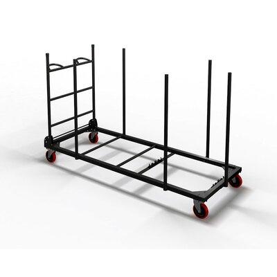 "Mayline Group Event Series 45.25"" x 76.75"" x 33"" Rectangular Table Cart"