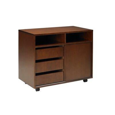 Stella Series 1 Door Storage Cabinet by Mayline