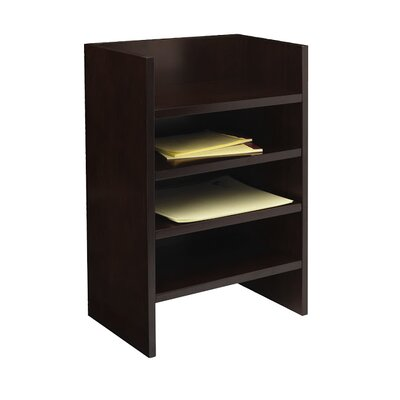 "Mayline Group Mira Series 24.75"" H x 18"" W Desk Hutch Letter Tray"