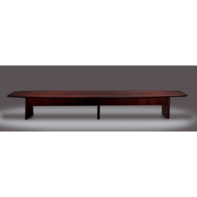 Mayline Group Corsica Series Boat Shaped Conference Table