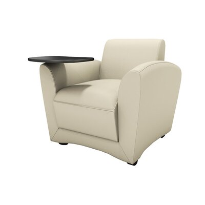 Lounge Series Santa Cruz Mobile Lounge Chair with Tablet by Mayline