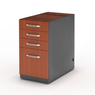 Mayline Group Aberdeen Series 4-Drawer Mobile File Kit