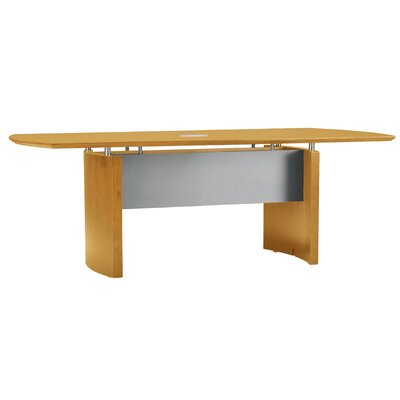 Napoli Boat Shaped Conference Table by Mayline