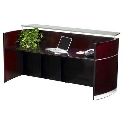 Mayline Group Napoli Rectangular Reception Desk