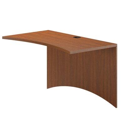 Mayline Group Brighton Series Desk Curved Bridge