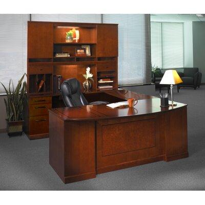 Mayline Group Sorrento Series U-Shape Executive Desk with Hutch