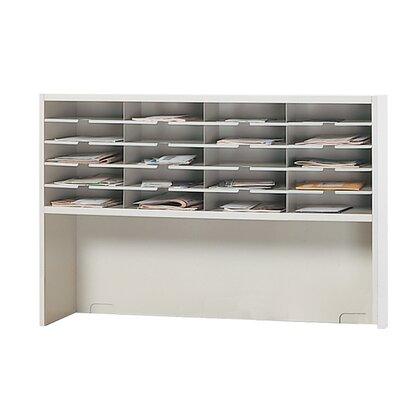 Mayline Group Mailroom 1-Tier 20 Pocket Sorter