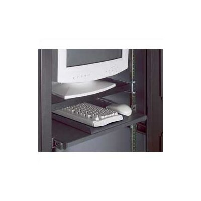 "Mayline Group 19"" Rack Mount Pivoting Keyboard Platform for DLC and SDC Cabinets"