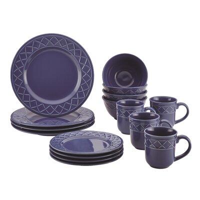 16 Piece Dinnerware Set by Paula Deen