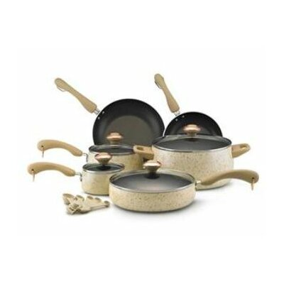 Paula Deen Porcelain 15 Piece Cookware Set