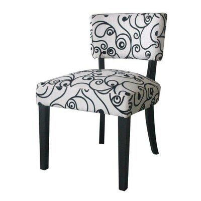 Cosmo Oversize Accent Side Chair by 4D Concepts