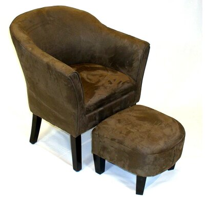 Chair and Ottoman by 4D Concepts