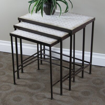 3 Piece Nesting Tables by 4D Concepts