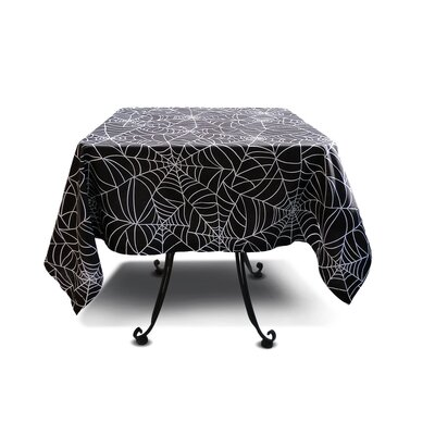 Spider Web Cotton Tablecloth by Sin In Linen