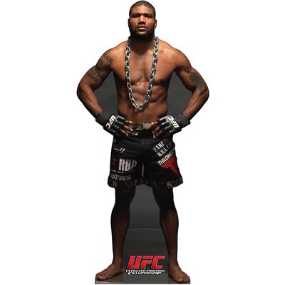Advanced Graphics UFC- Rampage Jackson Cardboard Stand-Up