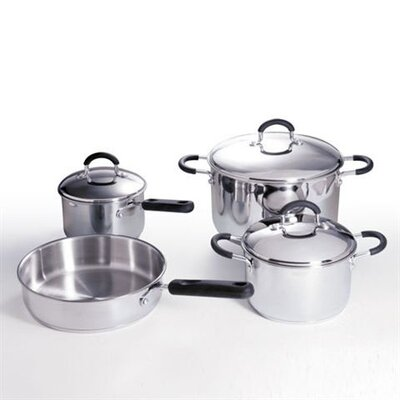 7 Piece Commercial Cookware Set by Stanley Roberts