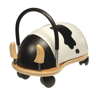 Wheely Bug Cow Push/Scoot Ride-On by Prince Lionheart