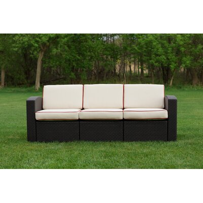 Cielo Patio Sofa with Cushion by Strata Furniture