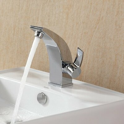 Bathroom Combos Single Hole Waterfall Illusio Faucet with Single Handle Product Photo