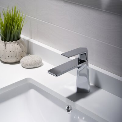 Exquisite Single Handle Basin Faucet Product Photo