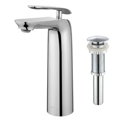 Seda™ Single Lever Vessel Bathroom Faucet with Pop-Up Drain Product Photo