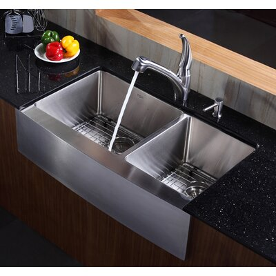 Kraus Kitchen Sink Reviews : Kraus Farmhouse 36