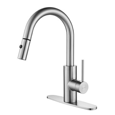 Mateo™ Single Lever Pull Down Kitchen Faucet Product Photo