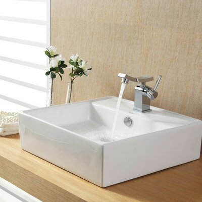 Bathroom Combos Bathroom Sink  with Single Handle Single Hole Unicus Faucet Product Photo
