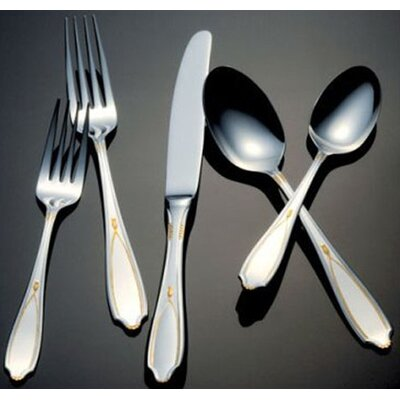 Victoria Gold Accent Flatware Collection by Yamazaki