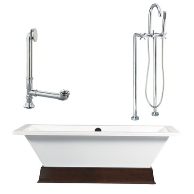 Giagni Tella Contemporary Soaking Bathtub
